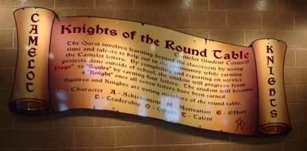 Curriculum info for 12 knight of the round table